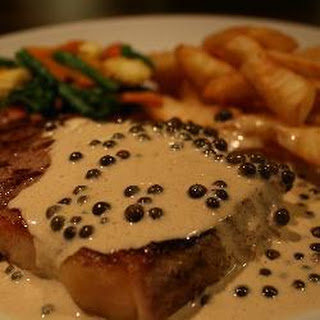 Brandy Peppercorn Sauce with Parmesan Recipe | Yummly