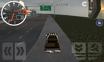Screenshot of Pickup Truck: Street Driving