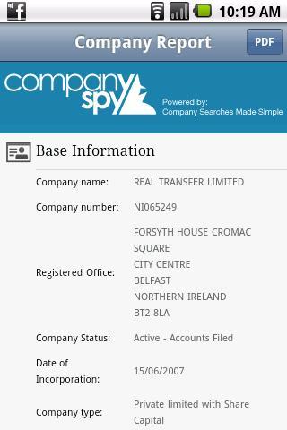 Company Spy