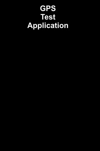 GPS Testerizer App