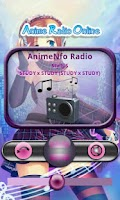 Screenshot of Anime Radio Online
