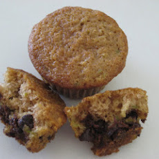 Zucchini- Chocolate Chip Muffins