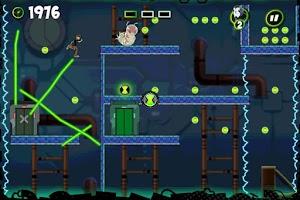 Screenshot of Ben 10 Cavern Run Lite