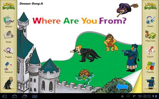 리틀잉글리시-Where are you from 7세
