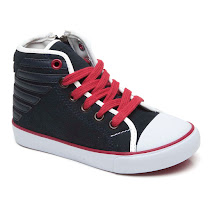 Armani Zip High Top TRAINER