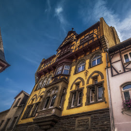 by Ole Steffensen - Buildings & Architecture Other Exteriors ( rhine, street, rhine-valley, germany, hotel, bacharach )