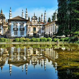 Mateus Palace - Vila Real by Antonio Amen - Buildings & Architecture Other Exteriors ( vila real, rose mateus, palace, mateus )