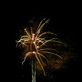 by Hannah Cook - Abstract Fire & Fireworks