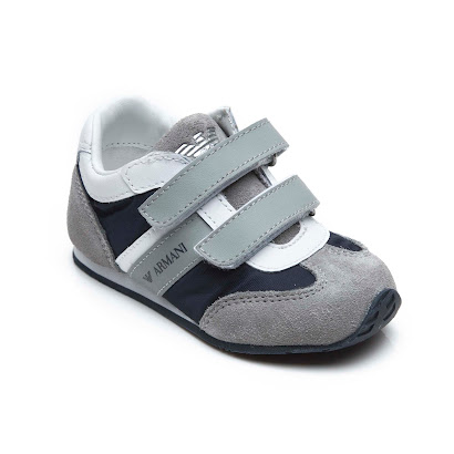 Armani Luxury Strap Trainer TODDLER TRAIINER