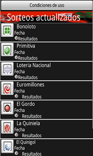 todo-loteria for android screenshot