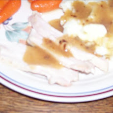 Moist and Tender Turkey With Gravy