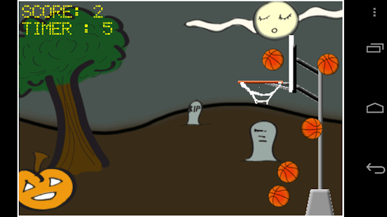 Basketball AndEngine Project - screenshot