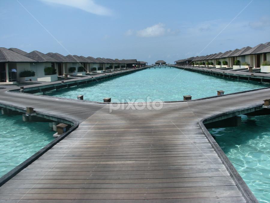 Paradise Island! by Bhairavi Katre Agashe - Landscapes Travel ( ocean, island, resort, travel, water, maldives )