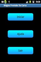 Screenshot of Mágica Previsão Da Carta