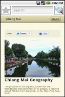 Screenshot of Chiang Mai Travel Guide