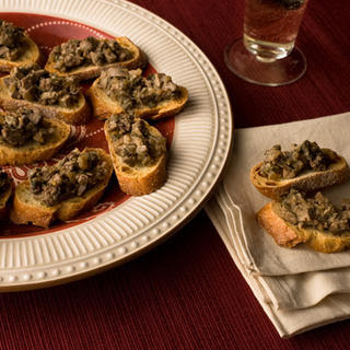 Crostini di Fegatini (Chicken Liver Crostini)