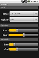 Screenshot of Etherophone