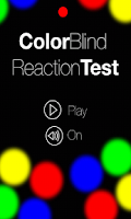 Screenshot of Colorblind Reaction Test