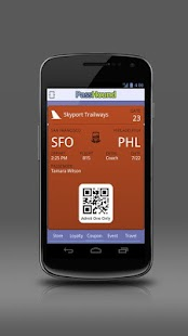 PassHound Passbook for Android - screenshot