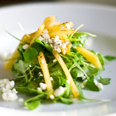 Green Peach Salad With Feta