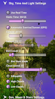 Screenshot of Scotney Castle Live Wallpaper