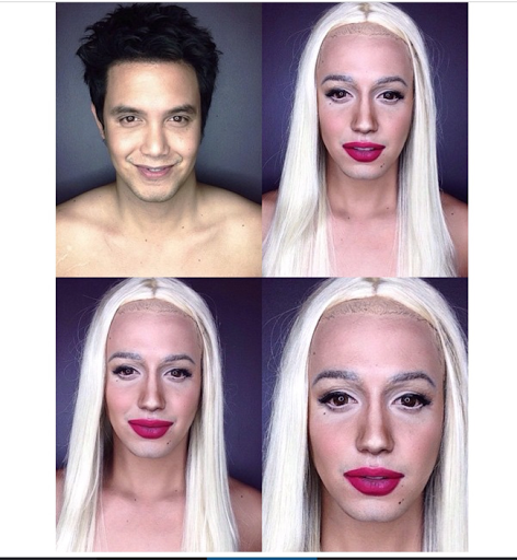 PHOTOS: Dad Transforms Himself Into Celebrities Using Makeup And Wigs 29