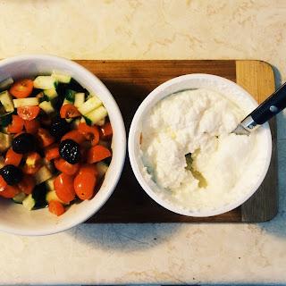 Tomato Cucumber Ricotta Salad Recipe