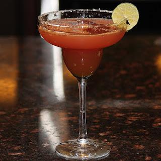 Refreshing Watermelon Margarita.