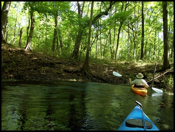 kayaking the Ichtucknee 054