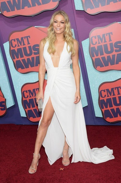 LeAnn Rimes Arrivals CMT Music Awards