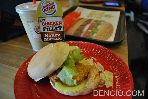 Burger King Philippines Chicken Fillet Sandwich 4