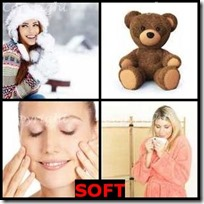 SOFT- 4 Pics 1 Word Answers 3 Letters
