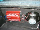 Endstufe Sony XM-222 MK2 für Subwoofer und Bass-Shaker