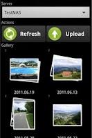 Screenshot of PhotoUploader