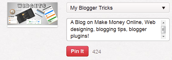 pinterest pin it button for blogger