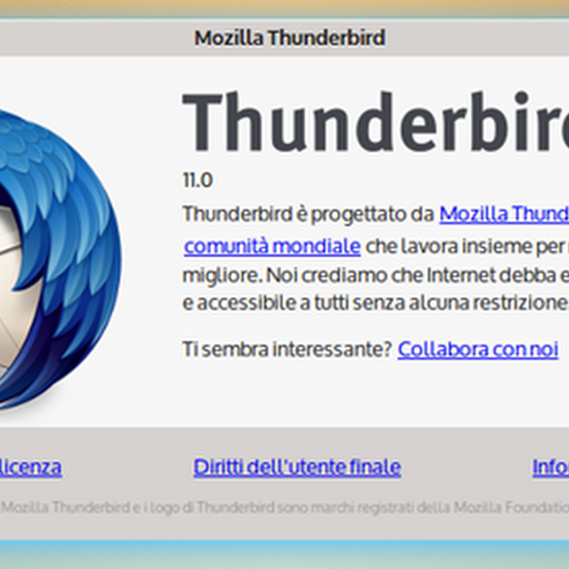 Come configurare Windows 8 per avviare in automatico Mozilla Thunderbird.
