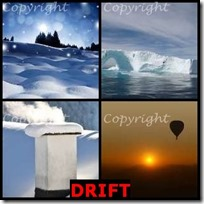 DRIFT- 4 Pics 1 Word Answers 3 Letters