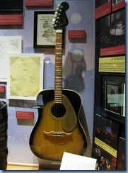 9479 Nashville, Tennessee - Discover Nashville Tour - Ryman Auditorium - Johnny Cash & June Carter display