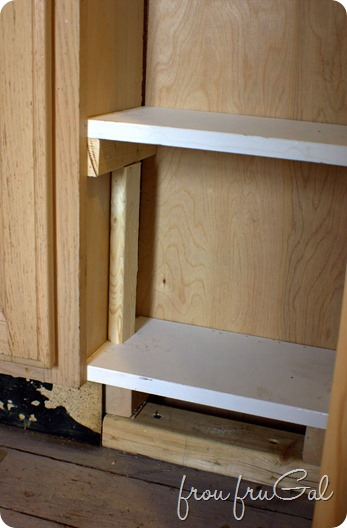 Shelf Spacer for Even Placement of Shelves