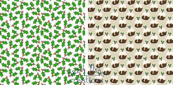 2014 August 07 new fabric designs spoonflower christmas hazel fisher creations