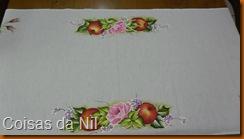 pintura maças e rosas