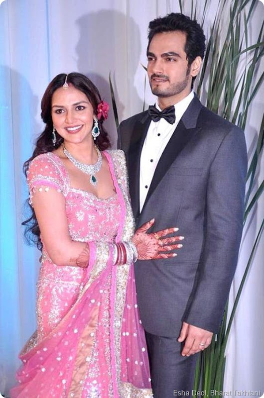Exclusive Photos of Esha Deol's wedding reception2