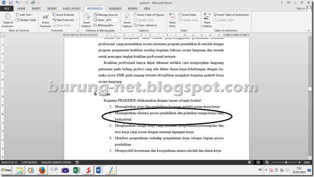 Cara Membuat Daftar Pustaka Otomatis Di Microsoft Word