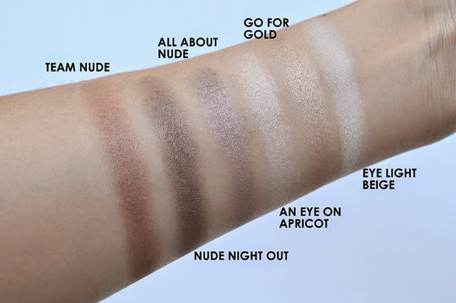 Essence How to Make Nude Eyes Swatches