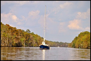 04c - Sailboat on Intercoastal Waterway