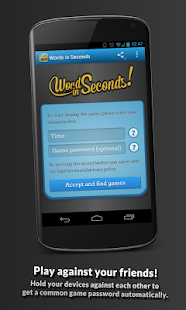 Words in Seconds - screenshot thumbnail
