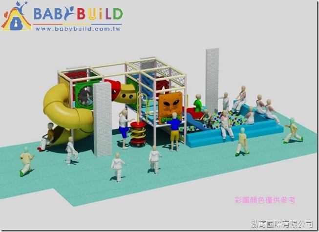BabyBuild 室內兒童遊戲樂園規劃設計彩圖