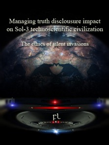 Managing truth disclousure impact on Sol-3 technoscientific civilization Cover