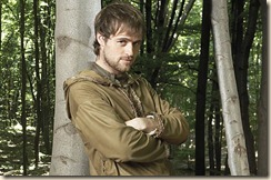 BBC ONE AUTUMN SEASON LAUNCH IMAGES STRICTLY EMBARGOED FOR PUBLICATION NOT BEFORE 00:01 HRS WEDNESDAY 19TH JULY 2006 Picture shows: JONAS ARMSTRONG as Robin Hood  TX: TBC  Fun, modern and intelligent, Robin Hood sets out to entertain a whole new generation and stars newcomer Jonas Armstrong in the lead role.  WARNING: Use of this image is subject to Terms of Use of Digital Picture Service.  In particular, this image may only be used during the publicity period for the purpose of publicising ROBIN HOOD and provided TIGER ASPECT is credited.  Any use of this image on the internet or for any other purpose whatsoever, including advertising and other commercial uses, requires the prior written approval of TIGER ASPECT.