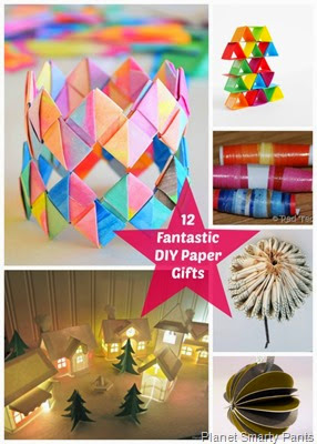 12 Fantastic Paper Gifts You Can Do Yourself